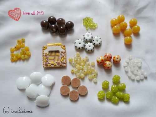 Beads kiriman partner, mba feb. Makasi yaaaa :D