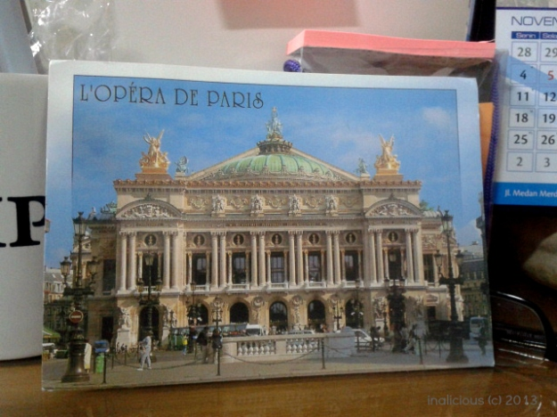 Thanks Nadia for this lovely postcard :D